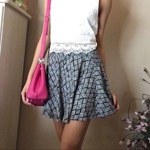 B&W Skater Skirt